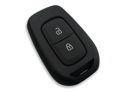 Renault New Type 2 Buttons with Nickel Logo (Original, for regular key) (433 MHz, PCF7939)
