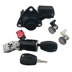 Renault - Renault Original Lock Set 2 Buttons Remote Control 433Mhz ID47 PCF7961M