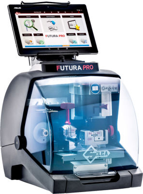 Silca FUTURA PRO Laser Automatic CNC key Cutting machine