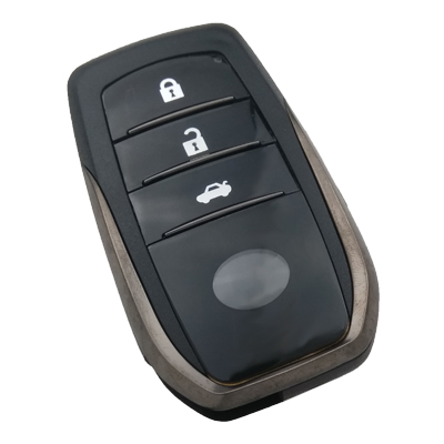 Toyota 3 Buttons Smart Key Shell 2016+
