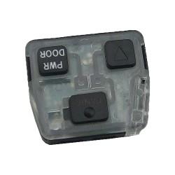 Toyota - Toyota Prado 2005 Remote key module 3 buttons 433Mhz - Aftermarket