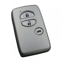Toyota - Toyota Smart 3 Buttons Key Shell