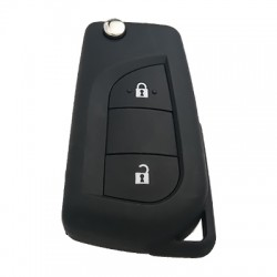 Toyota - Toyota Yaris, Aygo Remote Key 2 Buttons (Original) (TRPWS21 Chip)