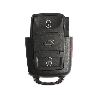 Volkswagen 3 Buttons Key Shell (with panic Button)