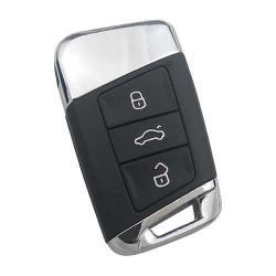 Volkswagen - Volkswagen 3 Buttons Key Shell