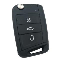 Volkswagen - Volkswagen GOLF 7 3 Buttons Remote Key (Original) (433MHZ, 5G0 959 753 BA, FFB)