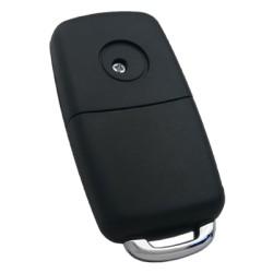 Volkswagen Touareg 3 Button Flip Remote Key (AfterMarket) (315 MHz, ID46) - Thumbnail