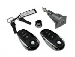 Volkswagen - Volkswagen Touareg Lock Set Kessy (Original, 433 Mhz, 7P6 800 375 CR)