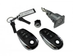 Volkswagen - Volkswagen Touareg Lock Set Kessy (Original, 868 Mhz, 7P6 800 375 DA)