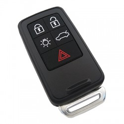Volvo - Volvo 5 Buttons Smart Card Shell