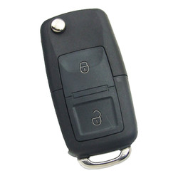 Xhorse - Xhorse Flip Wire Remote VW Type 2 Buttons XKB508EN