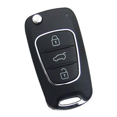 Xhorse VVDI Key Tool VVDI2 Wire Remote Key KIA Flip Type 3 Button XKHY02EN