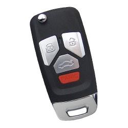 Xhorse - Xhorse VVDI Key Tool Wire Flip Remote Audi Type 3+1 Button XKAU02EN