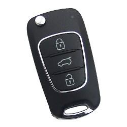 Xhorse - Xhorse VVDI Key Tool Wireless Flip Remote KIA Hyundai Type 3 Buttons XNHY02EN
